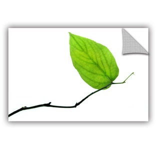 ArtAppealz Dan Holm 'Lone Leaf' Removable Wall Art