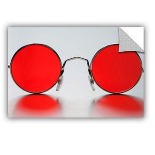 ArtAppealz Dan Holm 'Rose Colored Glasses' Removable Wall Art