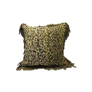 Corona Decor Leopard 18-inch Throw Pillow