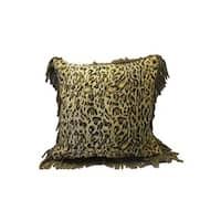 Corona Decor Leopard 18-inch Throw Pillow