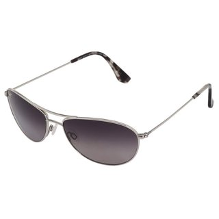 Maui Jim GS247-17 Neutral Grey Gradient Lenses Silver Frame Sunglasses