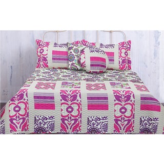 Lauren Taylor 5-piece Butterfly Quilt Set
