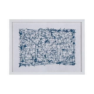 Dimond Home Blue Networks Framed Wall Art