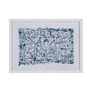 Dimond Home Blue Networks Framed Wall Art
