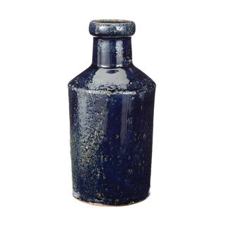 Dimond Home Rustic Denim Milk Bottle