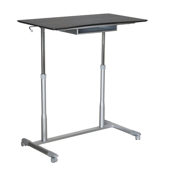 Shop Height Adjustable Stand Up Desk Free Shipping Today