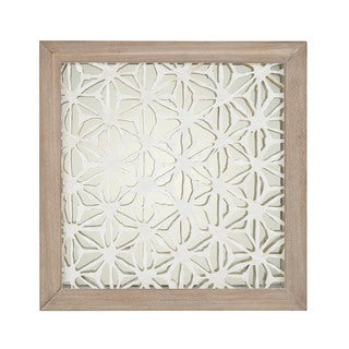 Dimond Home Natural Fibers On Foil Wall Decor