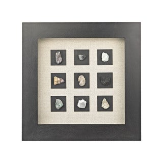 Dimond Home Green Agate Shadow Box Wall Art