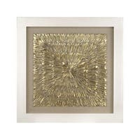 Dimond Home Gold Feather Spaturral Framed Wall Art