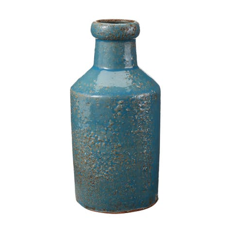 Dimond Home Rustic Ocean Milk Bottle