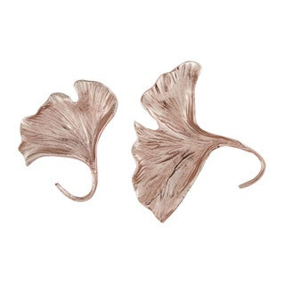 Dimond Home Rose Gold Ginkgo Wall Leaf