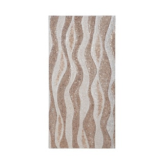 Dimond Home Capiz Shell Wave Wall Panel