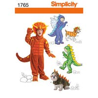 Child's and Dog Costumes-3-4-5-6-7-8
