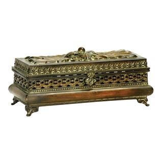 Sterling Decorative Pierced Glove Box