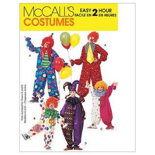 Children's/Boys'/Girls'/Misses'/Men's/Teen Boys' Clown Costu-MED