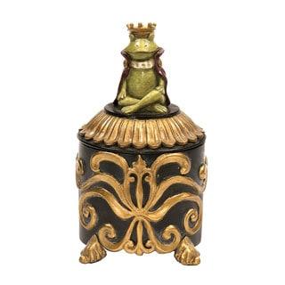 Sterling Prince Frog Vanity Box