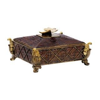 Sterling Australian Decorative Dressing Box