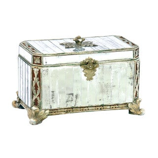 Sterling Paneled Mirror Box