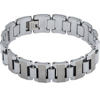 Men's Tungsten Gun Metal Bracelet