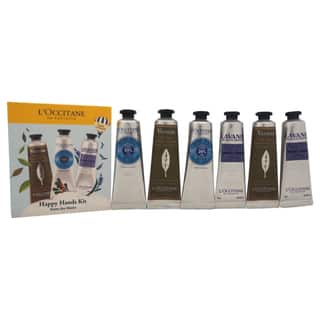 L'Occitane 6-piece Happy Hands Kit|https://ak1.ostkcdn.com/images/products/10515572/P17599877.jpg?impolicy=medium