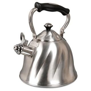 Gibson Alderton 2.3 Qt. Whistle Tea Kettle