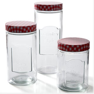 Gibson General Stores 3-piece Canister Set