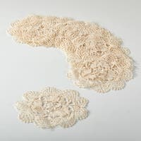 Cluny Lace Doily set of 12
