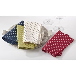 Silver Dot Napkin (Set of 12)