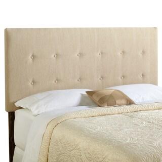 Humble + Haute Prescott King Size Light Sage Green Upholstered Headboard