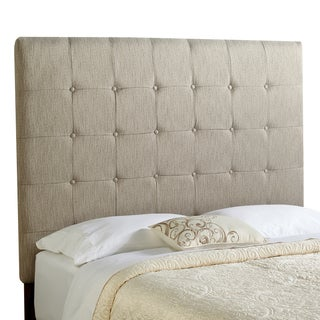 Humble + Haute Stratton Tall Textured Grey Upholstered Headboard (2 options available)