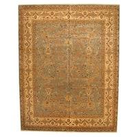 Herat Oriental Indo Hand-knotted Bidjar Wool Rug (11'10 x 15'1) - 11'10 x 15'1