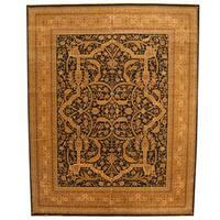 Herat Oriental Indo Hand-knotted Bidjar Wool Rug (11'9 x 14'11) - 11'9 x 14'11