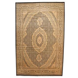 Herat Oriental Pakistani Hand-knotted Tabriz Wool Rug - 12' x 18'7