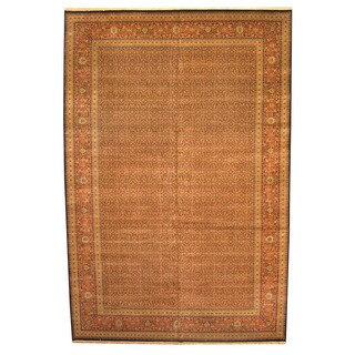Herat Oriental Indo Hand-knotted Bidjar Wool Rug (12' x 18')