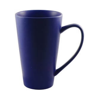 Oversized 24-ounce White Cobalt Mug (Set of 4)