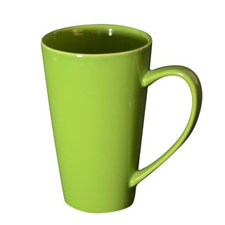 10 Strawberry Street Oversized 24-ounce Green Mugs (Set of 4)