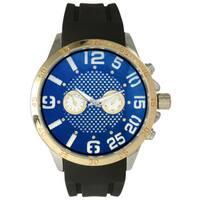 Olivia Pratt Men's Sporty Subdial Silicone Watch