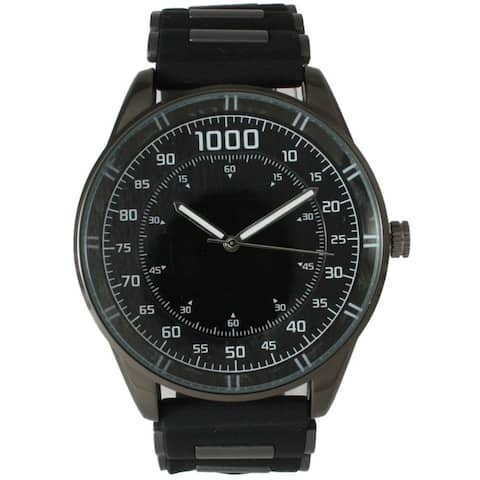 Olivia Pratt Men's Solid Silicone Watch