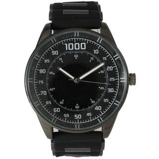 Olivia Pratt Men's Solid Silicone Watch
