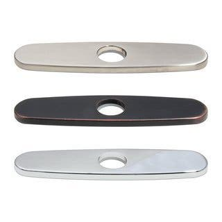 Dyconn Faucet Deck Plate for Kitchen and Bathroom Faucets|https://ak1.ostkcdn.com/images/products/10516616/P17600846.jpg?impolicy=medium