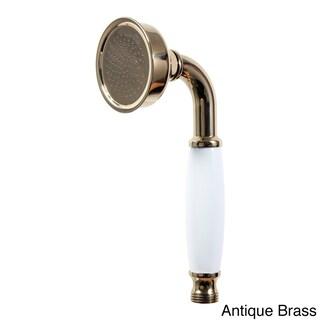 Dyconn Faucet Tranditional/Classic Hand Shower with Ceramic Handle (Option: Yellow - Antique/Brass Finish)