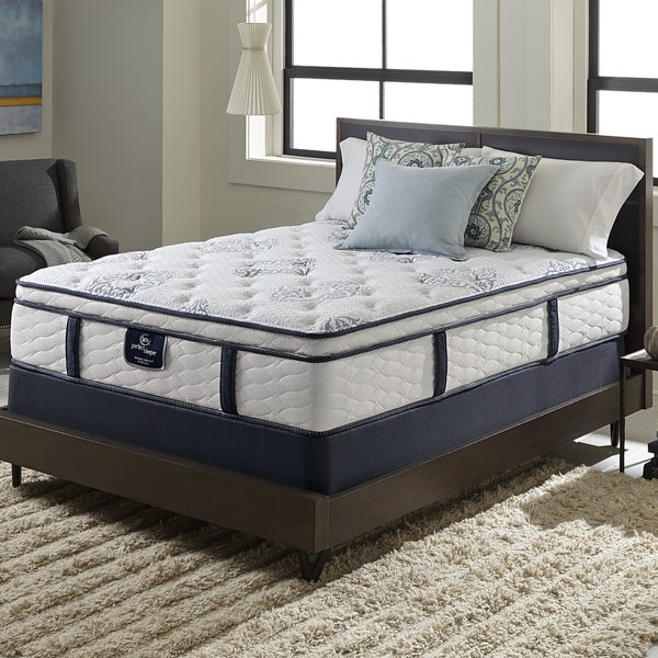 Shop Serta Perfect Sleeper Elite Infuse Euro Top Queen Size Mattress