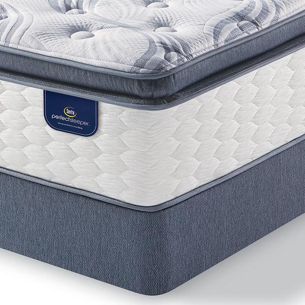 serta perfect sleeper wayburn super pillowtop queensize mattress set free shipping today