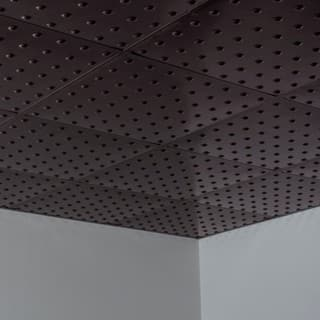 Fasade Dome Smoked Pewter 2-foot Square Lay-in Ceiling Tile|https://ak1.ostkcdn.com/images/products/10516938/P17601090.jpg?impolicy=medium