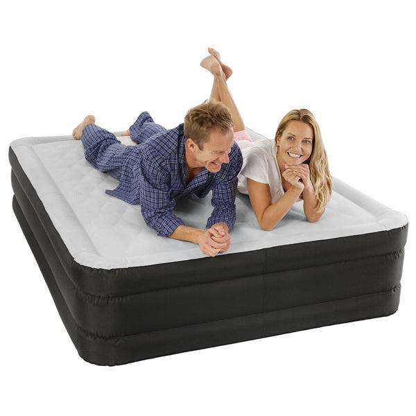 Air Comfort Queen Size Raised Air Mattress With Internal