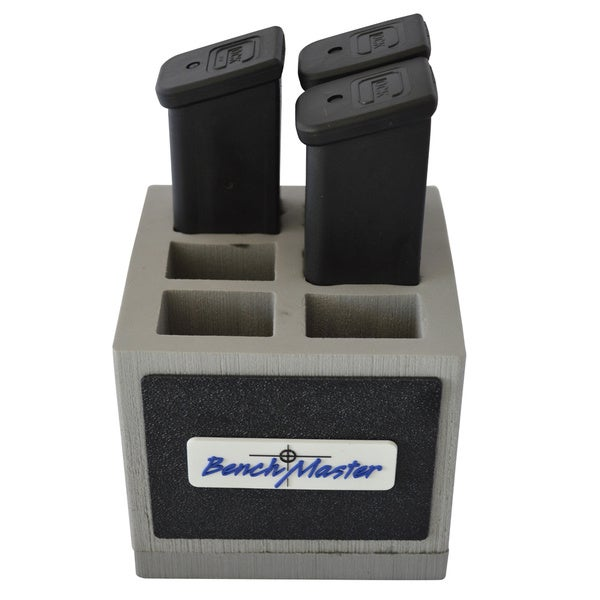 Benchmaster Weapon Rack Six (6) Unit Double (2) Stack .45 Pistol Magazine Rack