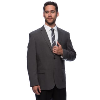 Caravelli Men's 'Superior 150's' Big and Tall Grey Wool Feel Jacket (Option: 56l)