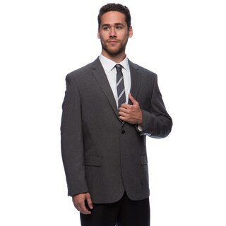 Caravelli Men's 'Superior 150's' Big and Tall Grey Wool Feel Jacket (More options available)