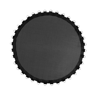 Mini Trampoline Replacement Jumping Mat for Trampolines with Round Frames with V-Rings, Using 3.5 springs