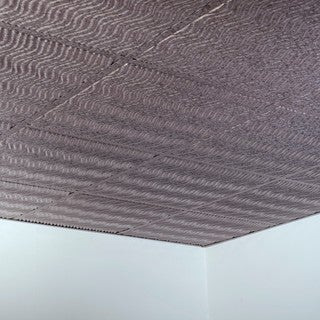 Fasade Current Galvanized Steel 2-foot Square Lay-in Ceiling Tile